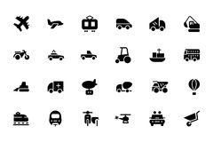 Transport Vector Icons 2 Royalty Free Stock Photo