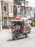Transport of vegetables Royalty Free Stock Photography