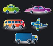 Transport, Vektor Lizenzfreies Stockfoto