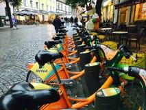 Transport vert à Vilnius Image stock