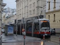 Transport in Vienna Royalty Free Stock Photos