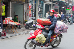 Transport Vietnamese style Royalty Free Stock Images