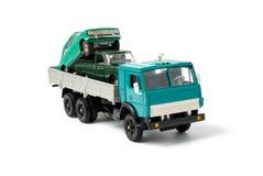 Transport von Spielzeugautos für Beseitigung stockfotografie