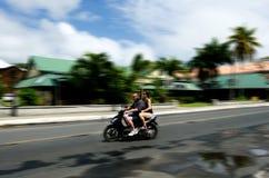 Transport w Rarotonga Kucbarskich wyspach Obraz Royalty Free