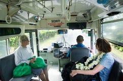 Transport w Rarotonga Kucbarskich wyspach Zdjęcia Royalty Free
