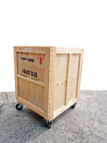 Transport wooden crates Royalty Free Stock Photography