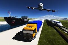 transport vektor abbildung