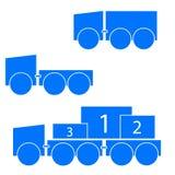 Transporta símbolos Fotografia de Stock Royalty Free