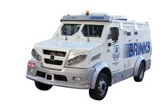 Transportador brasileño del efectivo Fotos de archivo