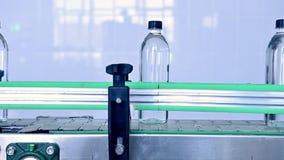 Transportador de la f?brica del agua metrajes