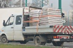 Transportaion de la carga pesada Fotos de archivo libres de regalías