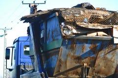 Transportaion van zware lading royalty-vrije stock foto's