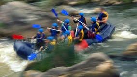 Transportando na corredeira do rio do sul do erro, Migiya Imagem de Stock Royalty Free