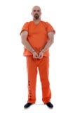 Transportando o prisioneiro foto de stock