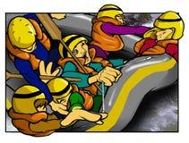 Transportar da água branca Imagem de Stock Royalty Free