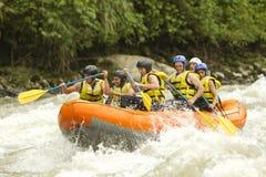 Transportar de rio de Whitewater Fotos de Stock Royalty Free