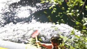 Transportar no rio de Kaituna filme