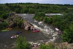 Transportar no rio do sul do erro Imagens de Stock Royalty Free