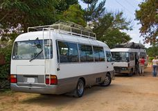 Transportation 001 shuttle kenya-tanzania Royalty Free Stock Photo