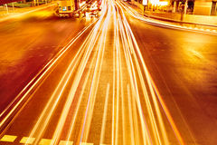 Transportation. Abstract Urban Background. Speed Traffic On High Royalty Free Stock Photos