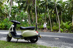 Transportation in Aitutaki Cook Islands Royalty Free Stock Image