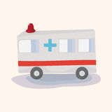 Transportation ambulance theme elements vector,eps Royalty Free Stock Photo