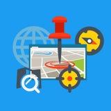 Transportation application concept Stock Images