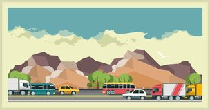 Transportation Background Stock Photos
