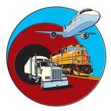 Transportation Badge Stock Photos