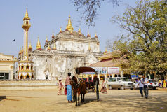 Transportation in Bagan, Myanmar Royalty Free Stock Photos