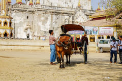 Transportation in Bagan, Myanmar Royalty Free Stock Images