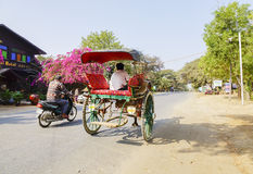 Transportation in Bagan, Myanmar Stock Photos