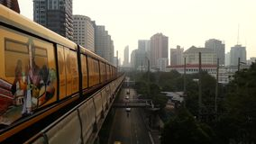 Transportation in Bangkok. Bangkok, Thailand - January 5, 2015 : Transportation in Bangkok. Bangkok is the capital and the most populous city of Thailand stock video
