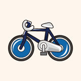 Transportation bike theme elements vector,eps Stock Photo