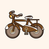 Transportation bike theme elements vector,eps Stock Photography