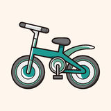 Transportation bike theme elements vector,eps Stock Photos