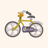 Transportation bike theme elements vector,eps Royalty Free Stock Photo