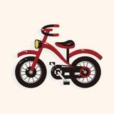 Transportation bike theme elements vector,eps Royalty Free Stock Image