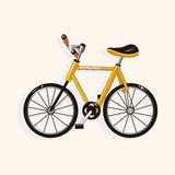 Transportation bike theme elements vector,eps Royalty Free Stock Photos