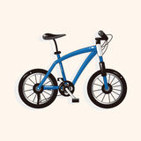 Transportation bike theme elements vector,eps. Vector illustration file Royalty Free Stock Photography