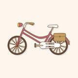 Transportation bike theme elements vector,eps. Vector illustration file Stock Photo