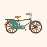 Transportation bike theme elements vector,eps Stock Image