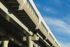 transportation on blue sky background Stock Photography