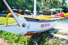 Transportation boat Stock Images