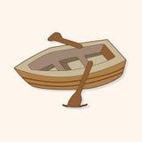 Transportation boat theme elements vector,eps Stock Image