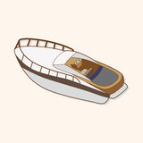 Transportation boat theme elements vector,eps Stock Photo