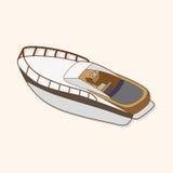 Transportation boat theme elements vector,eps. Vector illustration file Stock Photo