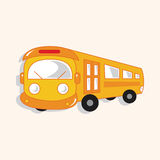 Transportation bus theme elements vector,eps Stock Photo