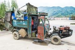 Unusual Car for Transportation, China Royalty Free Stock Photo