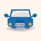 Transportation car theme elements vector,eps Royalty Free Stock Photography